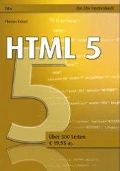 HTML5 Sachbuch aus dem bhv-Verlag